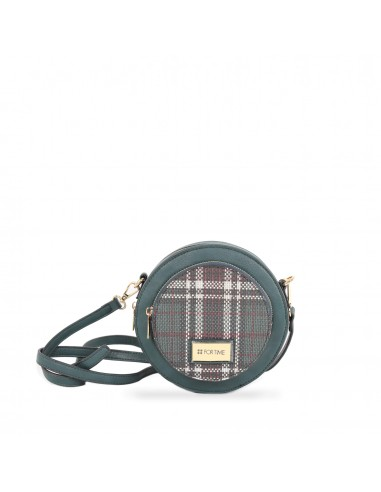 Bolso bandolera redondo Tweed de FOR...