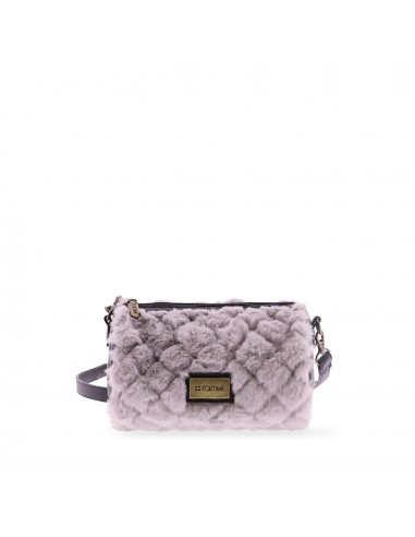 Bolso bandolera redondo Furry de FOR...