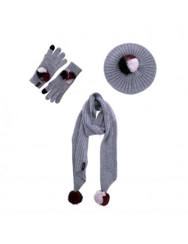 Pack bufanda, gorro y guantes Viki de...
