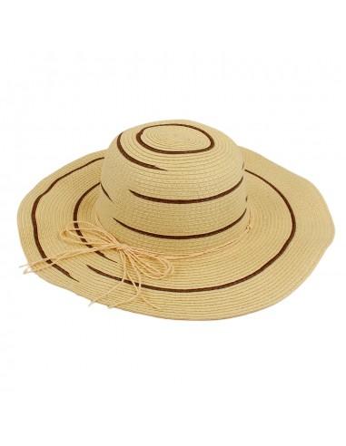 Sombrero tipo pamela Colos de EFERRI